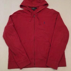 Polo Ralph Lauren zip up logo hoodie sweatshirt